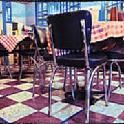 Old Fashion Grill Print by Susan Stone