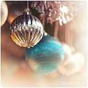 Old-fashioned Christmas Decorations Art Print by Jane Rix