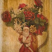 Old Fashioned St Nick Art Print