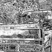 Old Ford Art Print by Sharon McLain