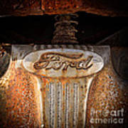 Old Ford Square Format Art Print