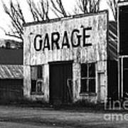 Old Garage Art Print