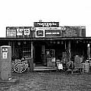 Old Gas Station Art Print