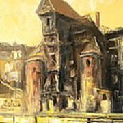 Old Gdansk - The Crane Art Print