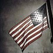 Old Glory - American Flag Photograph Print by Amelia Matarazzo
