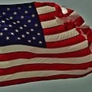 Old Glory American Flag 7 6/29 Art Print
