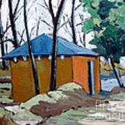 Old Golf Course Shed No.5 Art Print