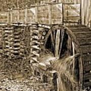 Old Grist Mill Photo Art Print