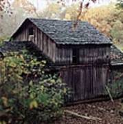 Old Grist Mill Art Print by Thomas Woolworth