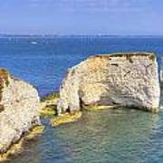 Old Harry Rocks - Purbeck Art Print