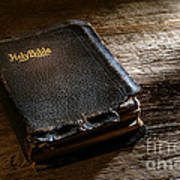 Old Holy Bible Art Print