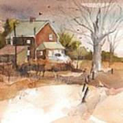 Old Home Place Print by Robert Yonke