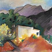 Old House In Altea La Vieja 02 Art Print