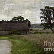 Old House In Culloden Battlefield Art Print