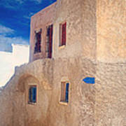 Old House In Oia  Art Print