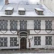 Old House In Riga Art Print