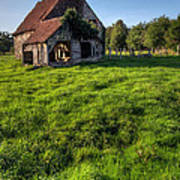 Old House In Summer  Art Print