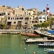 Old Jaffa Port Art Print