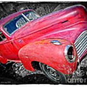 Old Junker Car Art Print