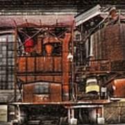 Old Kansas City Factory Building  Art Print