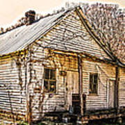 Old Kentucky Store Long Gone Art Print