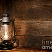 Old Kerosene Light Art Print