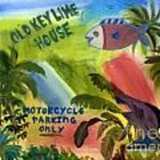 Old Key Lime House Art Print