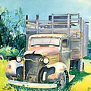 Old Kula Truck Art Print