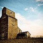 Old Lepine Elevator Art Print by Gerald Murray Photography