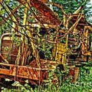 Old Logger-hdr Art Print