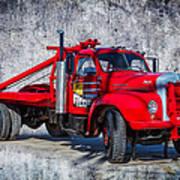 Old Mack Truck Art Print