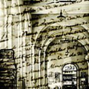 Old Mahon Town Market Art Print