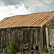 Old Maine Barn Art Print