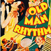 Old Man Rhythm, Us Poster, From Top Art Print