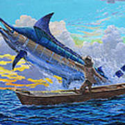 Old Man And The Sea Off00133 Art Print