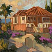 Old Mansion Costa Del Sol Art Print