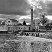 Old Mill And Banquet Hall Art Print