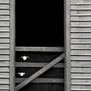 Old Mill Window Art Print