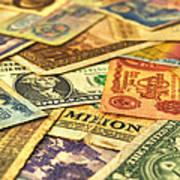 Old Money Art Print