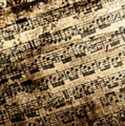 Old Music Art Print