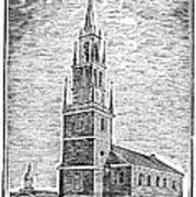 Old North Church, 1775 Art Print