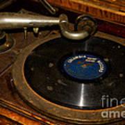Old Phonograph Art Print