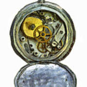 Old Pocket Watch Art Print