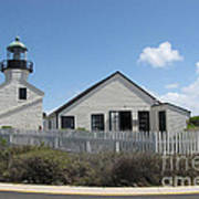 Old Point Loma Lighthouse 1 Art Print
