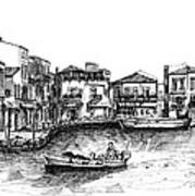 Old Port- Rethymno Art Print
