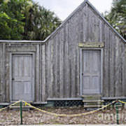 Old Post Office In Melbourne Beach Art Print