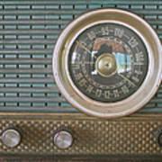 Old Radio Art Print