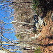 Old Rag Hiking Trail - 121246 Art Print