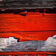 Old Red Barn Three Art Print