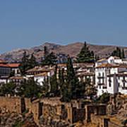 Old Ronda Panoramic. Andalusia. Spain Art Print